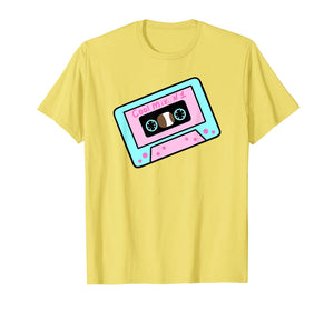Kawaii pastel goth classic Cartoon tape T shirt