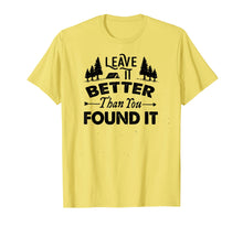 Load image into Gallery viewer, Leave It Better Than You Found It T-Shirt - Scout, Hiker