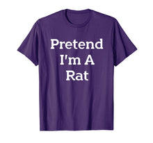 Load image into Gallery viewer, Pretend I'm A Rat Costume Funny Halloween Party T-Shirt