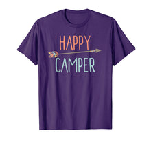 Load image into Gallery viewer, Arrow Happy Camper TShirt Camping TShirt