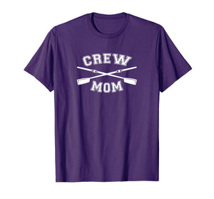 Crew Mom T-Shirt Mothers Day Shirt Rowing Coxswain Sculling