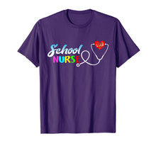 Load image into Gallery viewer, School Nurse Gift Nursing Love T-Shirt