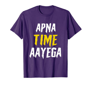 Apna Time Aayega Bollywood Gully Hindi Shirt Gift