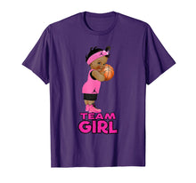 Load image into Gallery viewer, Ethnic Basketball Team Girl Baby Shower T-Shirt