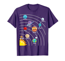 Load image into Gallery viewer, Cute Colorful Planet T Shirt Gift For Kids