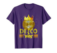 Load image into Gallery viewer, Disco King 1970s Vintage 70s Dance Party Gift T-Shirt