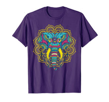 Load image into Gallery viewer, Elephant Lover t shirt; Colorful Elephant t shirt; Mandala