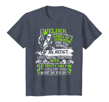 Load image into Gallery viewer, Welder T Shirt, The Genius Of An Artist T Shirt