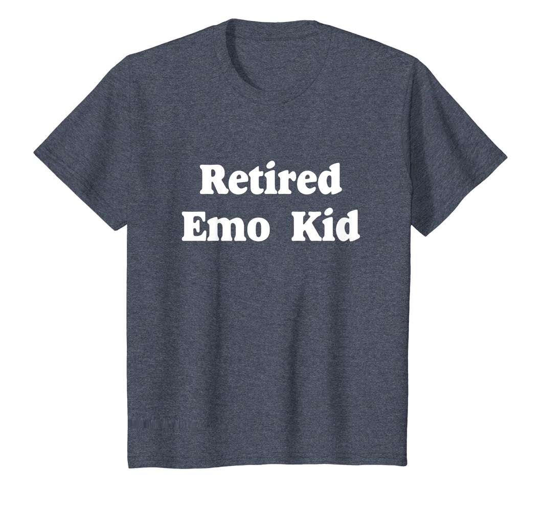 Retired Emo Kid T-Shirt Funny Emo Shirts