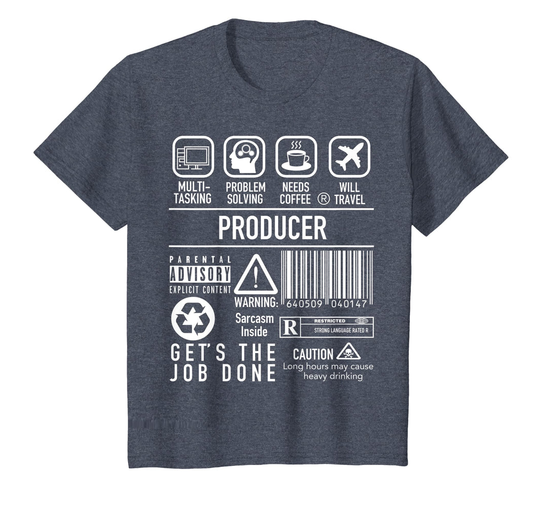 Producer Shirt - Film Executive T Shirt Gift for Movie Buffs