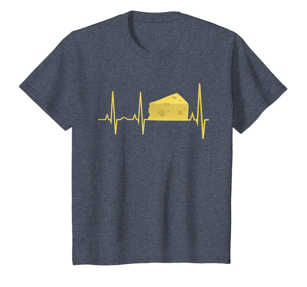 Cheese Heartbeat Shirt - Funny Cheese Lover Gift Tee