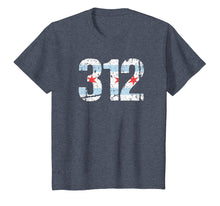 Load image into Gallery viewer, Chicago Shirt Chicago 312 Flag Area Code T Shirt City Pride