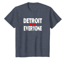 Load image into Gallery viewer, Detroit VS Everyone T-Shirt Funny Michigan Gift Shirt