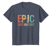 Load image into Gallery viewer, Epic Since May 2007 12th Bday 12 Year Old Tshirt Gift