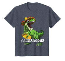 Load image into Gallery viewer, Cinco De Mayo T Rex Shirt Tacosaurus Shirt For Boys