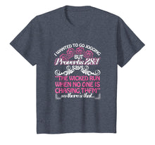 Load image into Gallery viewer, I Wanted To Go Jogging But Proverbs 28:1 T-shirt Funny Gift