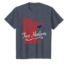 Load image into Gallery viewer, Two Harbors MN TShirt | Cute Adult Youth Tee - City State