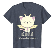 Load image into Gallery viewer, Dragon Cat Shirt Cute Kitten Lover Tee Japanese Monster Gift