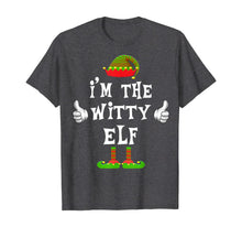 Load image into Gallery viewer, I'm The Witty Elf Matching Family Funny Christmas Gift T-Shirt