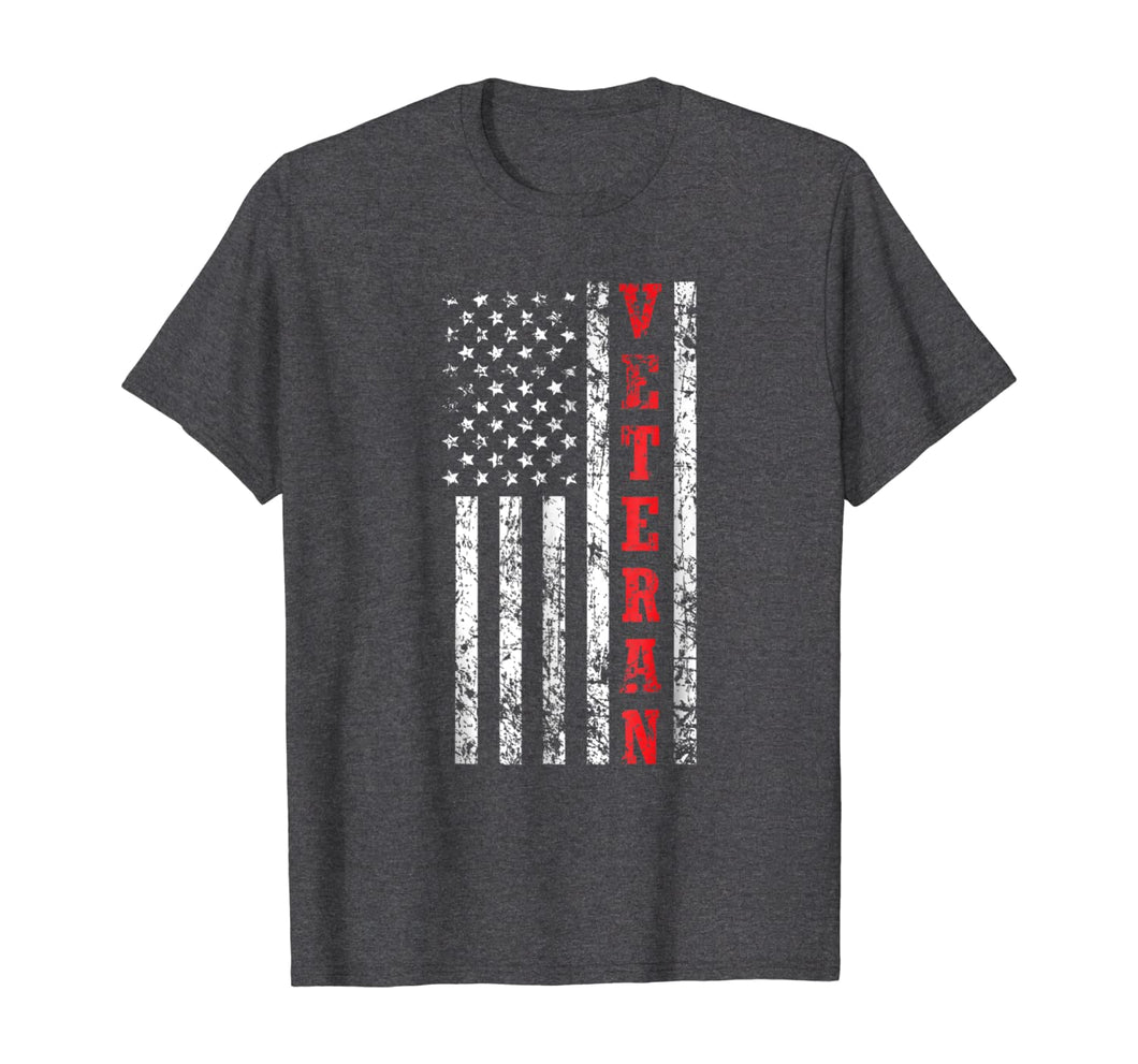 Veteran American Flag Shirt, Veteran's Day Patriot Gift