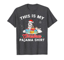 Load image into Gallery viewer, This Is My Christmas Pajama Siberian Husky Dog Mom Dad T-Shirt