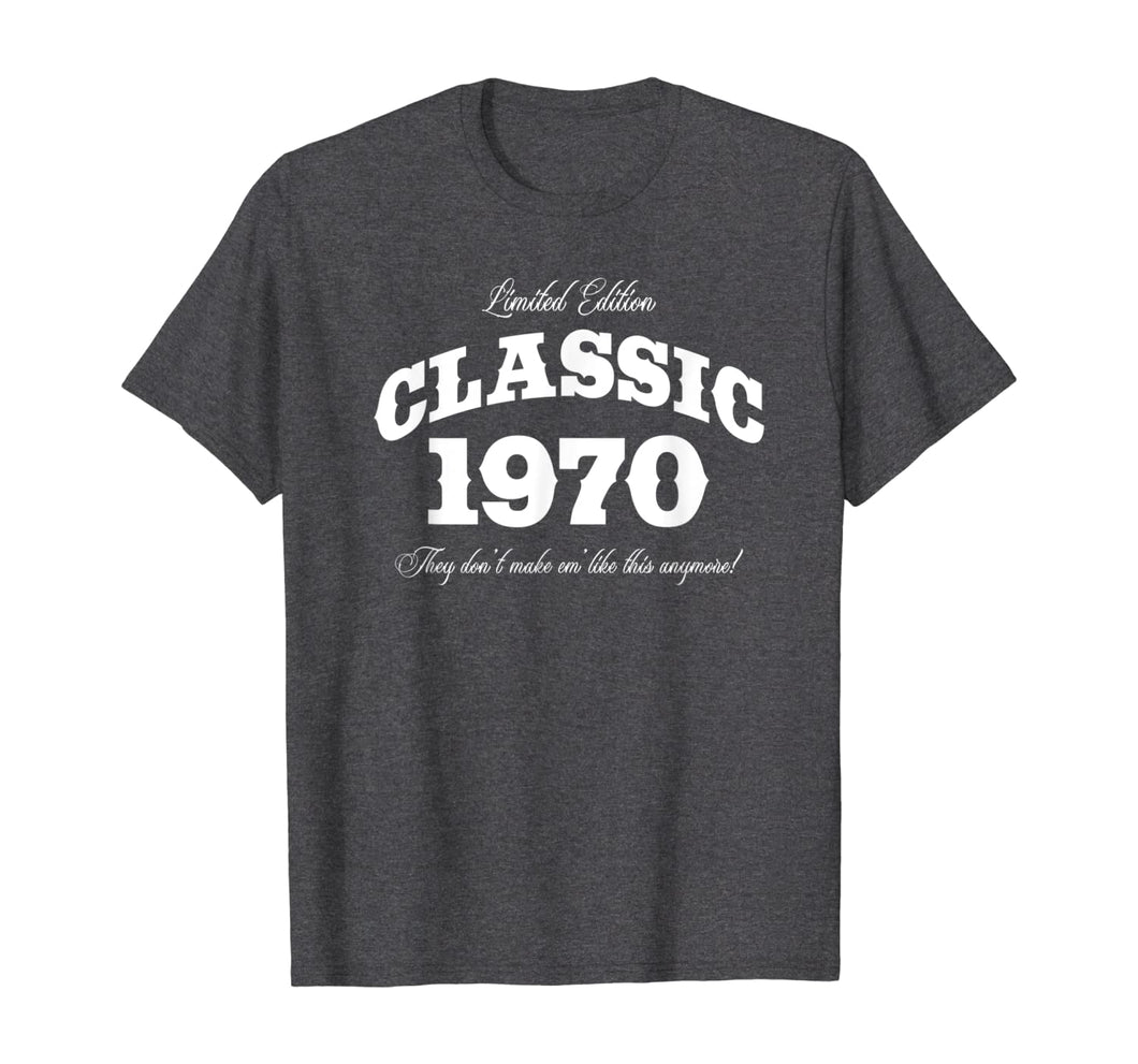 Gift for 50 Year Old: Vintage Classic Car 1970 50th Birthday T-Shirt