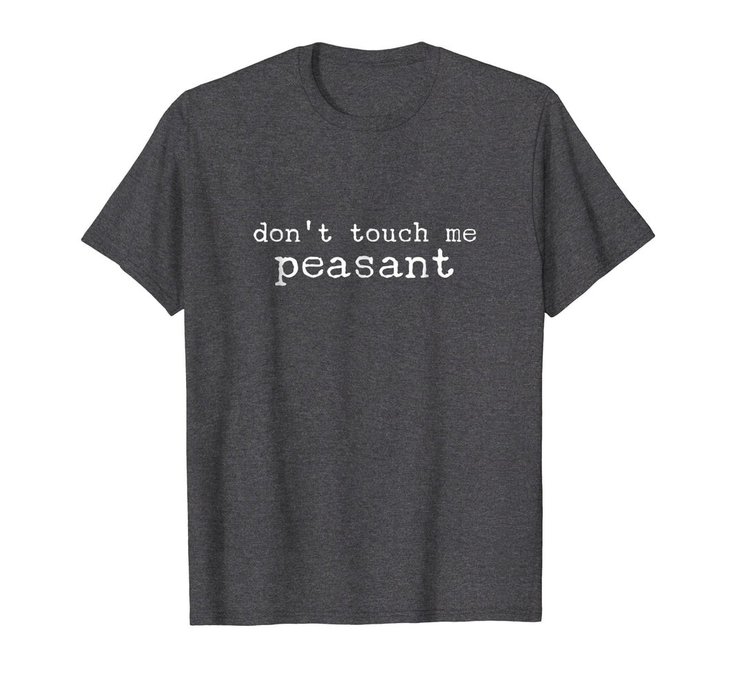 Queen Don't touch Me Peasant shirt