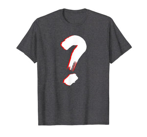 Question mark T shirt for cool and funny friends