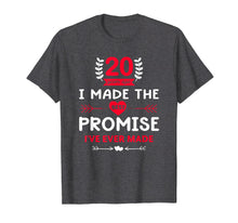 Load image into Gallery viewer, Cool 20th Wedding Anniversary Gift for Husband Wife T-Shirt