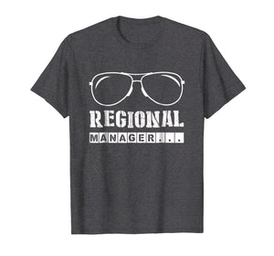 Regional Manager Office Sunglasses Funny Gift T Shirt
