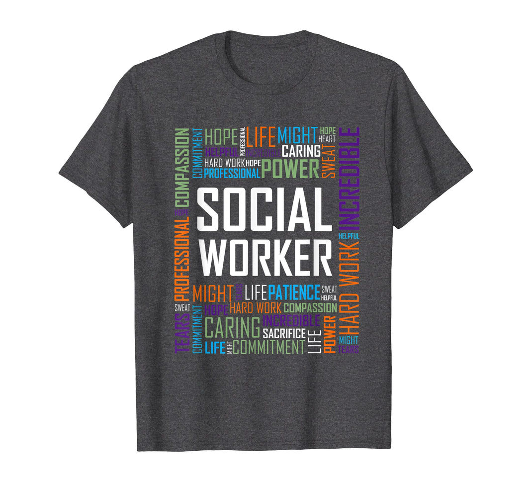 Social Worker Shirt for Women and Men Gift Tshirt