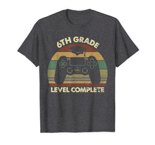 Load image into Gallery viewer, 6th Grade Level Complete Game Controller Graduation Tshirt