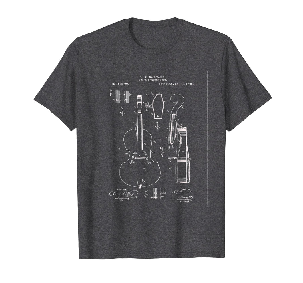 1890 Cello Patent Graphic T-Shirt