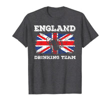 Load image into Gallery viewer, England Drinking Team T-Shirt Funny Beer Party Tee Gift