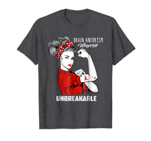 Load image into Gallery viewer, Brain Aneurysm Warrior Unbreakable Shirt Awareness Gift