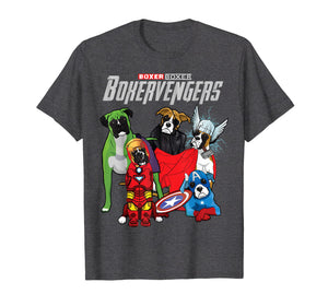 BOXERVENGERS T SHIRT - BOXER Mother's Day Gift Shirt Funny