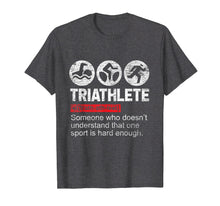 Load image into Gallery viewer, Triathlete Triathlon T-Shirt