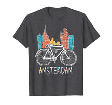 Load image into Gallery viewer, Amsterdam T-Shirt Retro Netherlands Bicycle Bike Gift