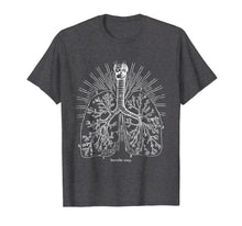 Load image into Gallery viewer, Breathe Easy Lung Anatomy T-Shirt