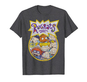 Rugrats Every Baby Vintage Circle Title Graphic T-Shirt