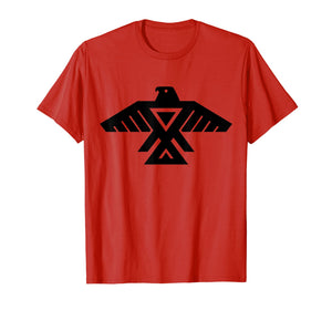 Anishinaabe Native American Thunderbird Symbol T Shirt