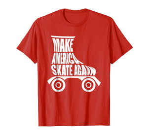 Make America Skate Again Roller Skating Cute T-Shirt