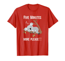 Load image into Gallery viewer, Koala Bear Quote T-Shirt - Funny Australian Animal Lover Tee
