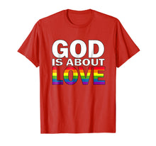 Load image into Gallery viewer, LGBT Christian Gay Pride Ally Support Love Shirt