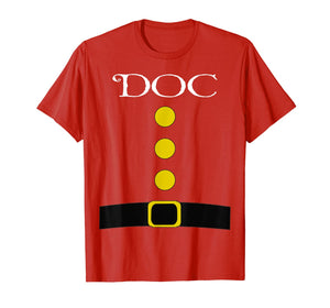 Dwarf Costume T-Shirt - Funny Halloween Gift Idea Doc Top T-Shirt