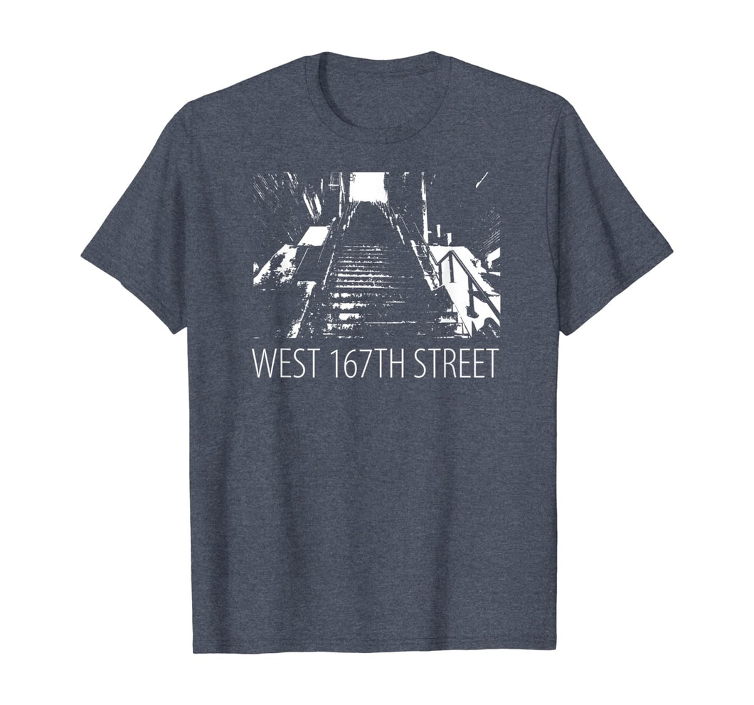 Famous West 167th Street Stairway Steps Dancing Stairs T-Shirt