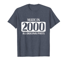 Load image into Gallery viewer, 19th Birthday Tshirt Gift Daughter Son Girls Boys 2000 Boy