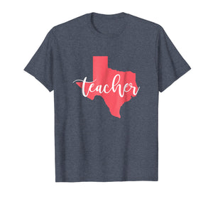 Texas Teacher State Shirt Pride for Men Women Proud Cute TX