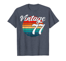 Load image into Gallery viewer, 1977 Retro Vintage 42th Birthday Gift T Shirt