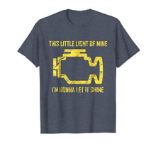 Load image into Gallery viewer, This Little Light Of Mine - Check Engine Light T Shirt